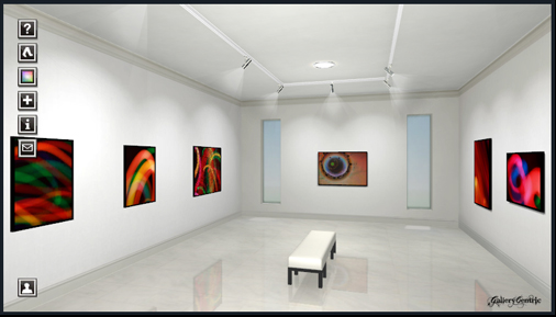Michael Dykstra 3D Gallry on Gallery Centric